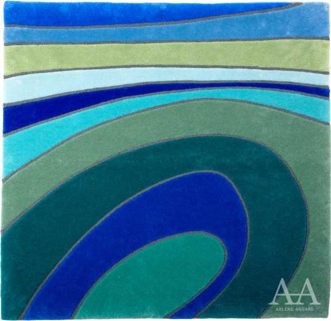 "Arlene Angard Collections, Stark Area Rugs ""Waves"""