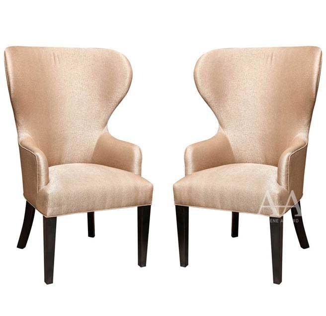 Catherine Wingback Chair by Arlene Angard